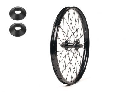 Salt Plus Mesa Front Wheel Sealed Black 20""