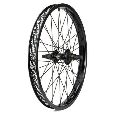Salt Rookie Cassette Rear Wheel 36H Black 18""