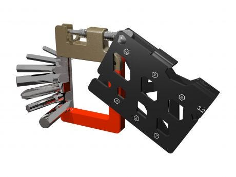 Super B TB-FD50 21 In 1 Folding Multi Tool