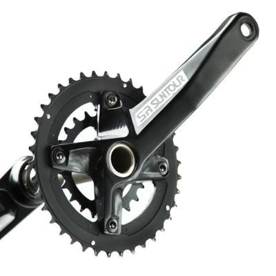 SR Suntour XCR-D Chainset Alloy/Steel 22/36 Teeth