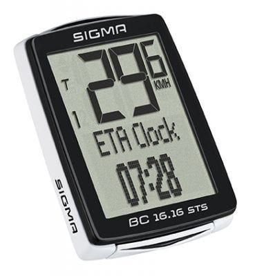 Sigma BC 16.16 Wireless STS Cycle Computer