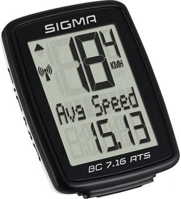 Sigma BC 7.16 Wireless Cycle Computer