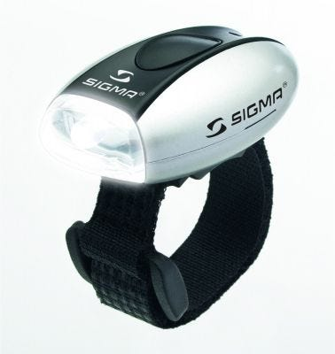 Sigma Micro LED Front Light Silver