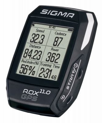Sigma ROX GPS 11.0 Cycle Computer Black (Complete)
