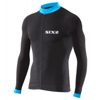 SIXS Bike 4 Long Sleeve Jersey Black/Blue