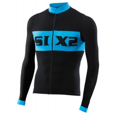 SIXS Bike 4 Luxury Long Sleeve Jersey Black/Blue