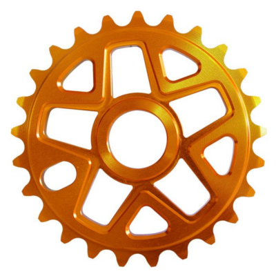 Savage BMX Alloy Sprocket 28 Teeth Orange