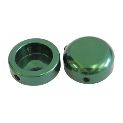Savage Bar End Plugs Alloy 22.2mm Green