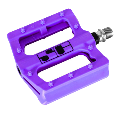 Savage Slim Jim BMX Pedals Purple 9/16""