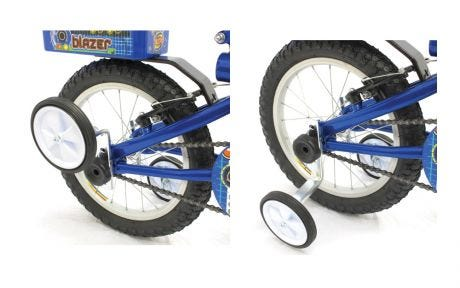 Trail Gator Flip Up Training Wheels