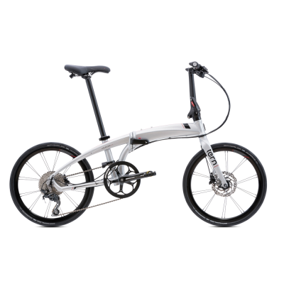 Tern Verge P10 Folding Bike 451 Matte Silver