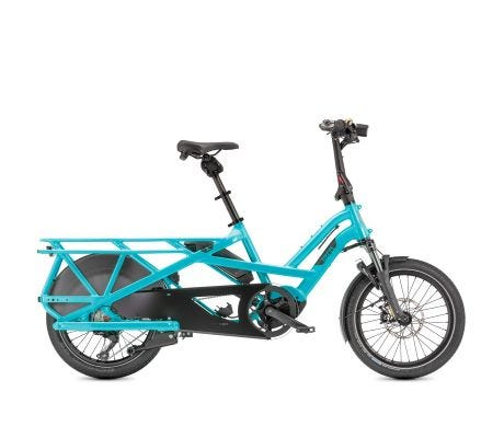 Tern GSD S10 Gen2 500wh Performance CX LX eBike Blue