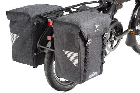 Tern Bucket Load Pannier Bag Black