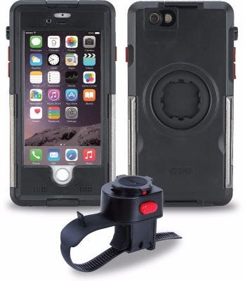 Tigra Sport FItclic MountCase Bike Kit for iPhone 6/6S With ArmourGuard