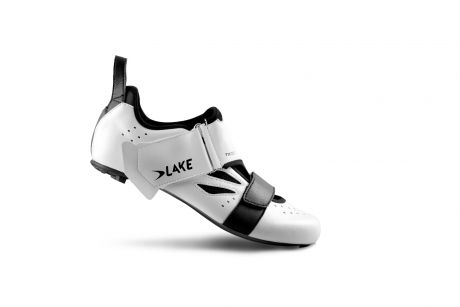 Lake TX223 CF Carbon TRI Shoes White/Black