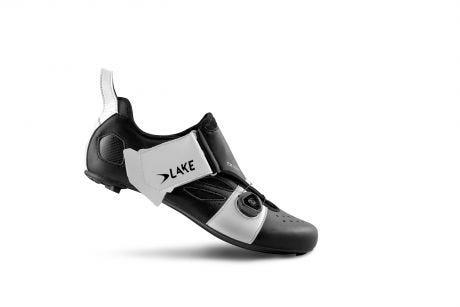 Lake TX322 CFC Carbon TRI Shoes Black/White