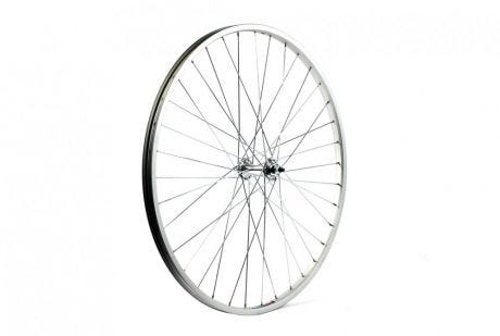 ETC Front Wheel City 26 x 1 3/8 Alloy Silver Nutted