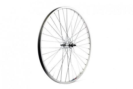 ETC Rear Wheel City 26 X 1 3/8 Alloy Silver Gear Sided Nutted