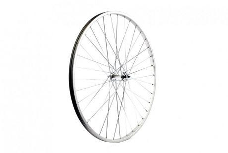 ETC Front Wheel Road 27 X 1 1/4 Alloy Silver Nutted