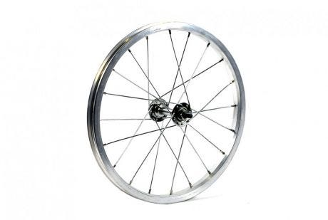 ETC Front Wheel Junior  16 x 1.75 Alloy Silver Nutted