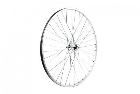 ETC Front Wheel Hybrid/City 700C Alloy Silver Nutted