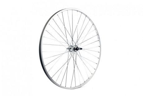 ETC Rear Wheel Hybrid/City 700C Alloy Silver Gear Sided Nutted