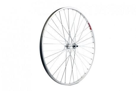 ETC Front Wheel Hybrid/City 700C Alloy Silver Hybrid Nutted