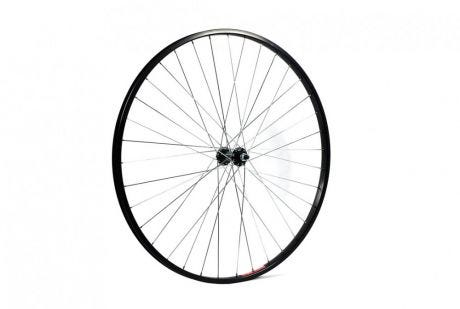 ETC Front Wheel City/Hybrid 700C Alloy Black Hybrid Nutted