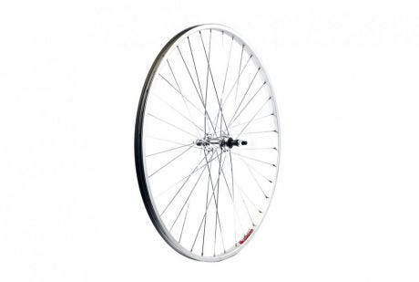 ETC Rear Wheel Hybrid/City 700C Alloy Silver Hybrid Gear Sided Nutted