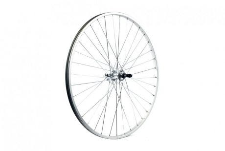 ETC Rear Wheel Hybrid/City 700C Alloy Silver Hybrid Gear Sided Quick Release