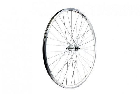 ETC Front Wheel Hybrid/City 700C Alloy Double Wall Silver Nutted
