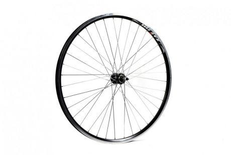 ETC Rear Wheel Hybrid/City 700C Alloy Double Wall Black Hybrid Gear Sided Nutted