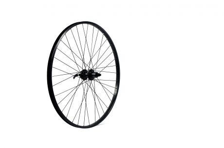 ETC Rear Wheel MTB 24 X 1.75 Alloy Black Gear Sided Nutted