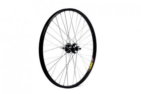 ETC Rear Wheel MTB 24 X 1.75 Alloy Black Gear Sided Disc Brake Nutted
