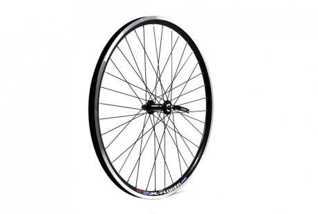 ETC Front Wheel MTB 26 X 1.75 Alloy Double Wall Black Quick Release