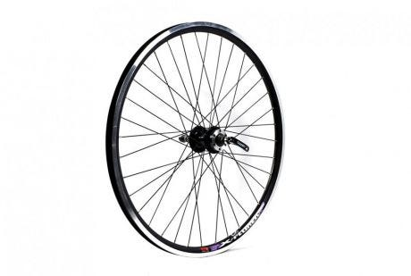 ETC Rear Wheel MTB 26 X 1.75 Alloy Double Wall Black Cassette Quick Release