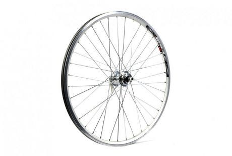 ETC Front Wheel MTB 26 X 1.75 Alloy Double Wall Silver Quick Release
