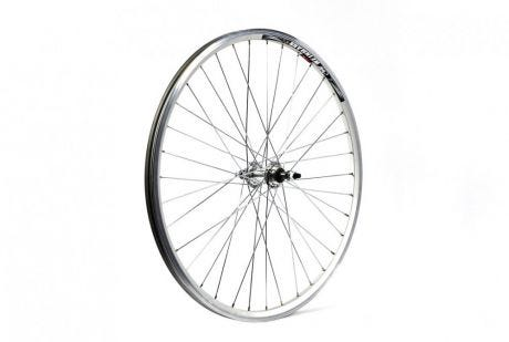 ETC Rear Wheel MTB 26 X 1.75 Alloy Double Wall Silver Gear Sided Nutted