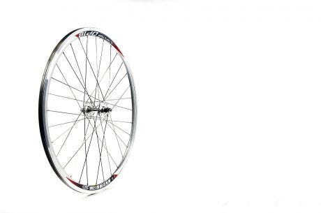 ETC Front Wheel Fixie 700C Alloy Double Wall Silver Large Flange