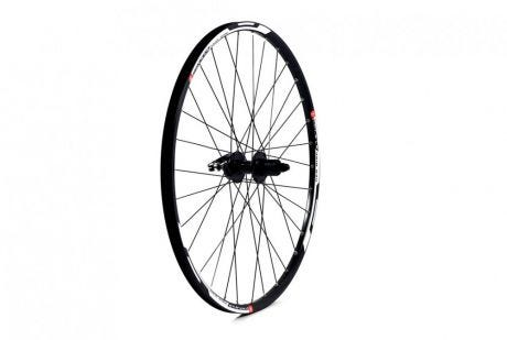 ETC Front Wheel MTB 27.5 Alloy Double Wall Black Quick Release Disc/V-Brake
