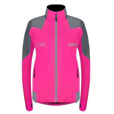 Proviz Nightrider New Jacket Ladies Waterproof Pink