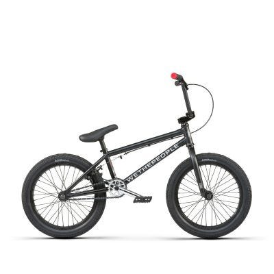 "Wethepeople CRS 18"" Freestyle BMX Matte Black"