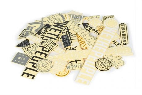 Wethepeople Brand Sticker Pack 15 Assorted Stickers