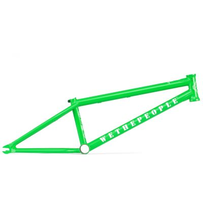 Wethepeople Message BMX Frame Astroturf Green | Side