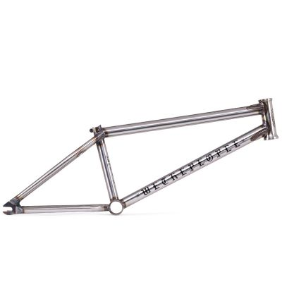 Wethepeople Pathfinder BMX Frame Matte Glossy Clear Raw | Side