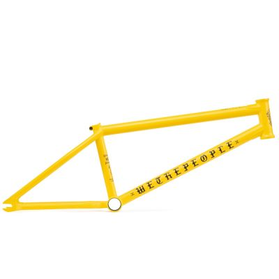 Wethepeople Pathfinder BMX Frame Matte Taxi Yellow | Side