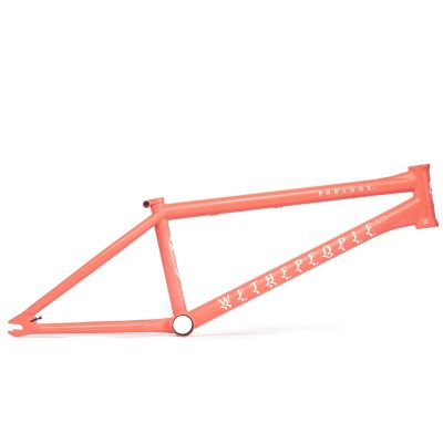 Wethepeople Paradox BMX Frame Matte Coral Red | Side