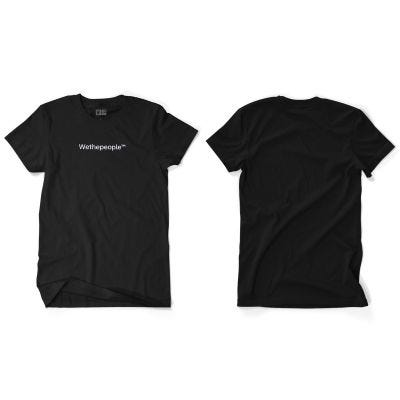 Wethepeople WTP (Embroidery) T-Shirt Black Multi