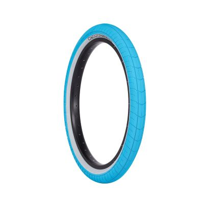 Wethepeople Activate BMX Tyre 60psi 20 x 2.4 Blue/Grey Wall