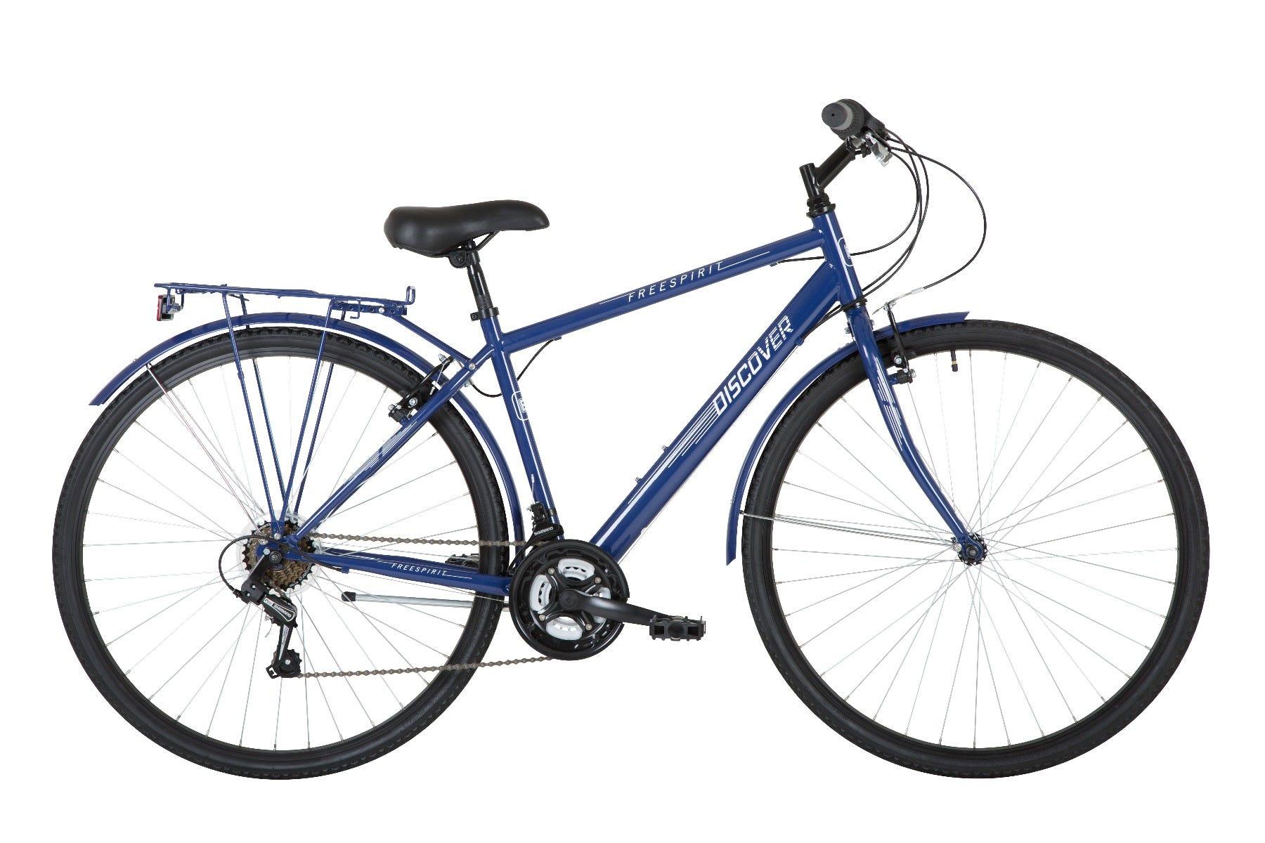 Freespirit Discover 2020 Hybrid Bike Navy